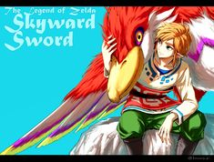 Sky Link and Loftwing - Skyward Sword by Karasuki