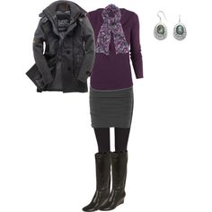 A fashion look from November 2013 featuring Planet tops, Superdry coats and James Perse mini skirts. Browse and shop related looks.