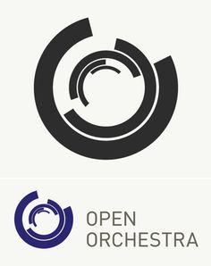 Logo designed for Open Orchestra by Loki Design