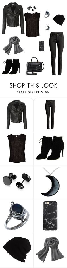 """""""Outfit #17"""" by jenam015 on Polyvore featuring IRO, Velvet by Graham & Spencer, Tom Ford, Curiology, SCHA and Maison Margiela"""