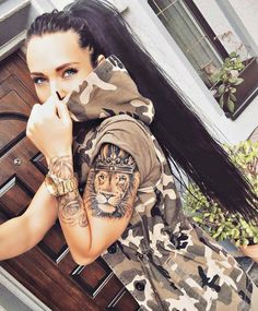 Awesome lion tattoos female lion tattoo, lion arm tattoo, lioness tattoo, l Female Lion Tattoo, Lion Arm Tattoo, Lioness Tattoo, Back Tattoo, Tattoo Girls, Tattoo For Baby Girl, Girl Tattoos, Tatoos, Tattoo Baby