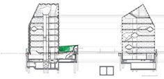 「prada aoyama epicenter / herzog & de meuron section」の画像検索結果 Moleskine, Prada, Renzo Piano, Make Design, Tokyo, Floor Plans, Exterior, Architecture, Building
