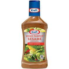 Kraft Salad Dressing Asian Toasted Sesame, 16 FL OZ (473ml)