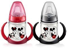 NUK Disney Mickey Mouse PP-Trinklern-Flasche... Tried to order these from Germany, but they dont ship to the States =(
