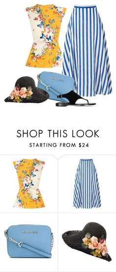 """""""Untitled #3444"""" by julinka111 ❤ liked on Polyvore featuring Oasis, L.K.Bennett, MICHAEL Michael Kors and Barbara Bui"""