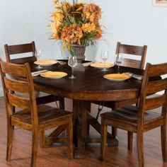 Sunny Designs Tuscany Oval Dining Table - 1392VM