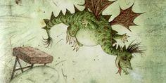 Kleine draak is een heel stoere draak. Hij kan al een h…