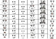 30 Awesome printable lego faces images