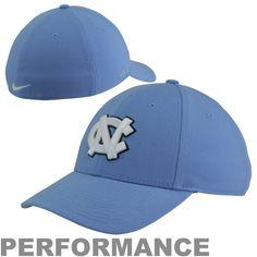 Nike North Carolina Tar Heels (UNC) Dri-FIT 3D Performance Flex Hat - Carolina Blue