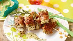 Zachte kabeljauw in parmaham met pestoroomsaus - Recept Jumbo Supermarkten