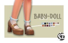 Sims 4 Cc Packs, Sims 4 Mm Cc, Sims Four, Sims 4 Mods Clothes, Sims 4 Clothing, The Sims 4 Download, Download Cc, Sims 3 Shoes, Baby Doll Shoes