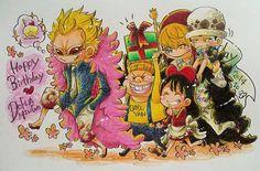 Happy birthday Doffy/art by「あずサロム・ナミスキー」