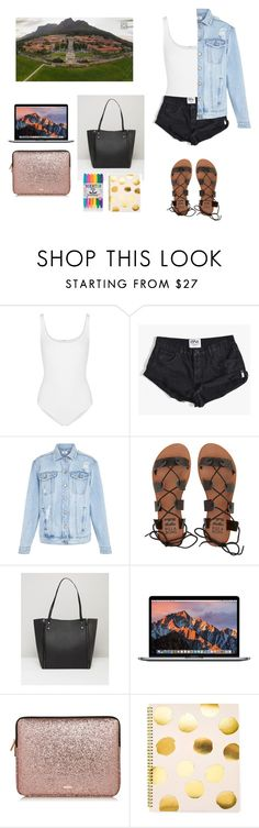 """""""College"""" by allgoodbabybaby on Polyvore featuring Wolford, OneTeaspoon, New Look, Billabong, Pieces and Sugar Paper"""