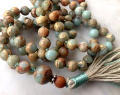 mala beads on Etsy, a global handmade and vintage marketplace.
