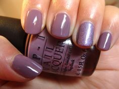 lilac colored nail polish