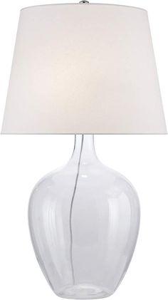 Ralph Lauren Home Simone Glass Table Lamp Simple Elegance, Elegant, Table Lamp, Hardware, Cleaning, Lighting, Glass Table, Drum, Ralph Lauren
