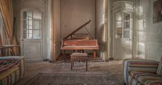 Abandoned Chateau Frozen In Time In The French Countryside   Bored Panda