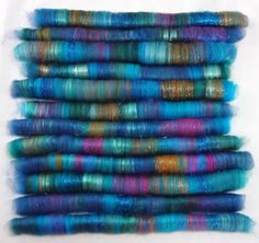 Spinning Fiber Hand Crafted ROLAGS 25 oz 030213 by KnittingKnorth