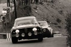 Nurburgring 1970 6 hours. The beautiful Alfa Romeo 1600 GTA, stunning looking car with a great engine for its time.