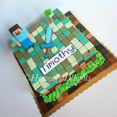 minecraft cake images - Google Search