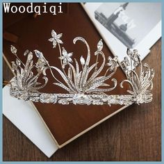 Woodqiqi wedding hair tiara head piece headbands jewelry peinetas y accesorios para peinados tocados de novia vintage