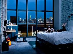 Brooklyn's Wythe Hotel. So much awesome.  http://www.cntraveler.com/daily-traveler/2012/06/hotels-accomodations-brooklyn-new-york-where-to-stay?mbid=nl_daily_traveler#slide=13