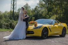 Corvette in Yellow