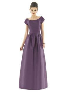 Alfred Sung Style D551  #purple #bridesmaid #dress