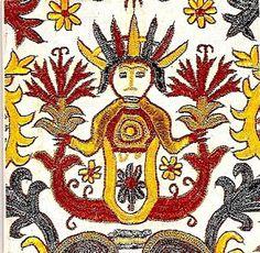 Cretan textile Old Symbols, Greek Design, Embroidery Art, Fabric Art, Textile Art, Folk Art, Drawer, Greece, Cross Stitch
