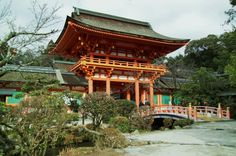 Kamigamo Shrine is an important Shinto sanctuary in northeast Kyoto, first founded in 678. It is one of the oldest Shinto shrines in Japan, and has been designated by UNESCO as a World Heritage Site.