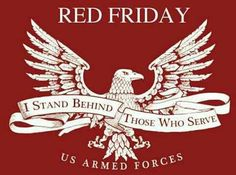 REMEMBER EVERYONE DEPLOYED FRIDAY! Our department wears our red shirts every Friday to show support for our troops! We pray for you, your family and your friends every day. Us Navy, Navy Mom, Navy Wife, Wear Red On Friday, Red Friday, Remember Everyone Deployed, Military Mom, Military Families, Military Quotes