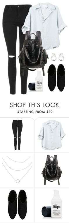 """Untitled #201"" by dianav8 ❤ liked on Polyvore featuring Topshop"