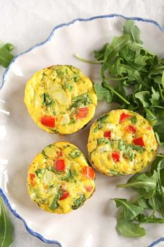 Healthy Veggie Egg Muffins - Eat Yourself Skinny