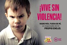 NADIE MÁS FUERA DE TI ES RESPONSABLE DE TU PROPIO ENOJO. #QuieroVivirSano #SaludSocial #ViveSinViolencia