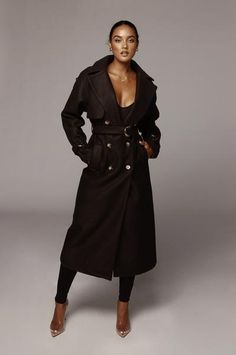 Outerwear – JLUXLABEL Winter Coats Women, Trench, Double Breasted, My Style, Stylish, Black, Fashion, Moda, Double Breasted Suit