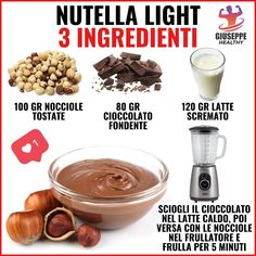 Conseils fitness en nutrition et en musculation. Dog Food Recipes, Cooking Recipes, Healthy Recipes, Nutella Light, Tips Fitness, Fitness Diet, Health Fitness, Healthy Juices, Cooking Light