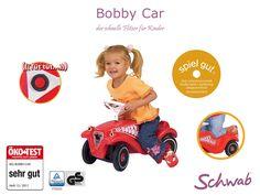 Das rote Bobby Car ist ein echter Klassiker! #BobbyCar
