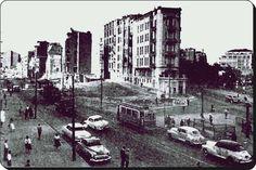 Harbiye'de cadde genişletme - 1950'ler