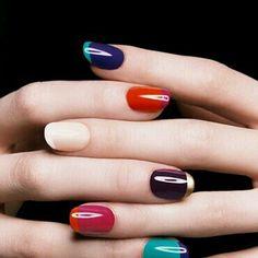 Francesas coloridas