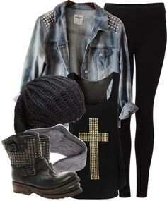 Love this!!! I am going to try to do something like it and wear it to school
