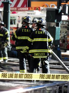 FDNY in action they run in when others run out.