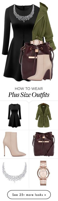 """""""Untitled #1601"""" by cheesinjuliet on Polyvore featuring Ted Baker, Akira Black Label and Marc by Marc Jacobs"""