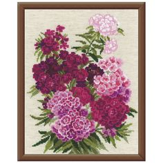 Sweet William Counted Cross Stitch Kit - Cross Stitch, Needlepoint, Embroidery Kits – Tools and Supplies