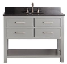"Lakeport 43""W Bath Vanity  