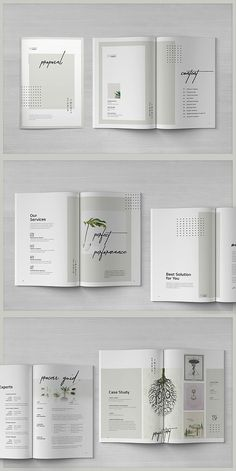 ideas for design layout booklet fonts Mise En Page Portfolio, Portfolio Layout, Portfolio Design, Design Brochure, Brochure Layout, Brochure Template, Pamphlet Template, Corporate Brochure, Graphic Design Magazine