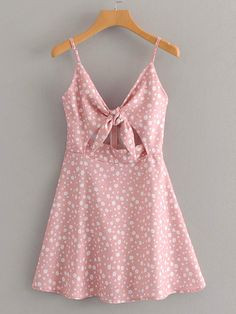 Pink Backless Mini Dress Strappy Sleeveless Holiday Beach Women Dress Floral Dames Jurken pink dress S Cute Dresses, Casual Dresses, Sexy Dresses, Pink Dresses, Pink Dress Casual, Wrap Dresses, Casual Clothes, Floral Dresses, Casual Outfits