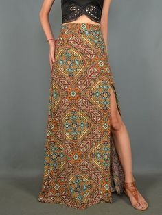 High Waisted Maxi $32 www.DylanMarie.com