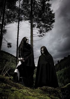 Immortal - Abbath and Demonaz. This should be an oil painting or something.
