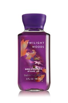 Twilight Woods Travel Size Shower Gel - Signature Collection - Bath & Body Works - Embrace the beauty of Twilight! Twilight Woods evokes the warmth & mystery of enchanted woods with an enticing blend of apricot nectar, mimosa petals & Tuscan Cypress Top Notes: Juicy Berry, Sparkling Mandarin, Coconut Mid Notes: Creamy Frangipani, Soft Mimosa, Wet Honeysuckle, Wild Freesia, Apricot Nectar Dry Notes: Oud Wood, Musk, Orris, Vanilla Milk, Warm Wood