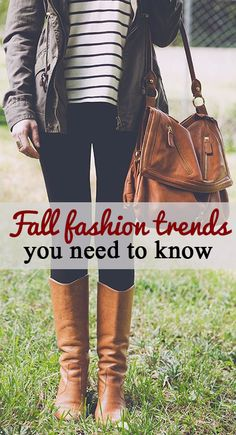 fall fashion trends you have to try!